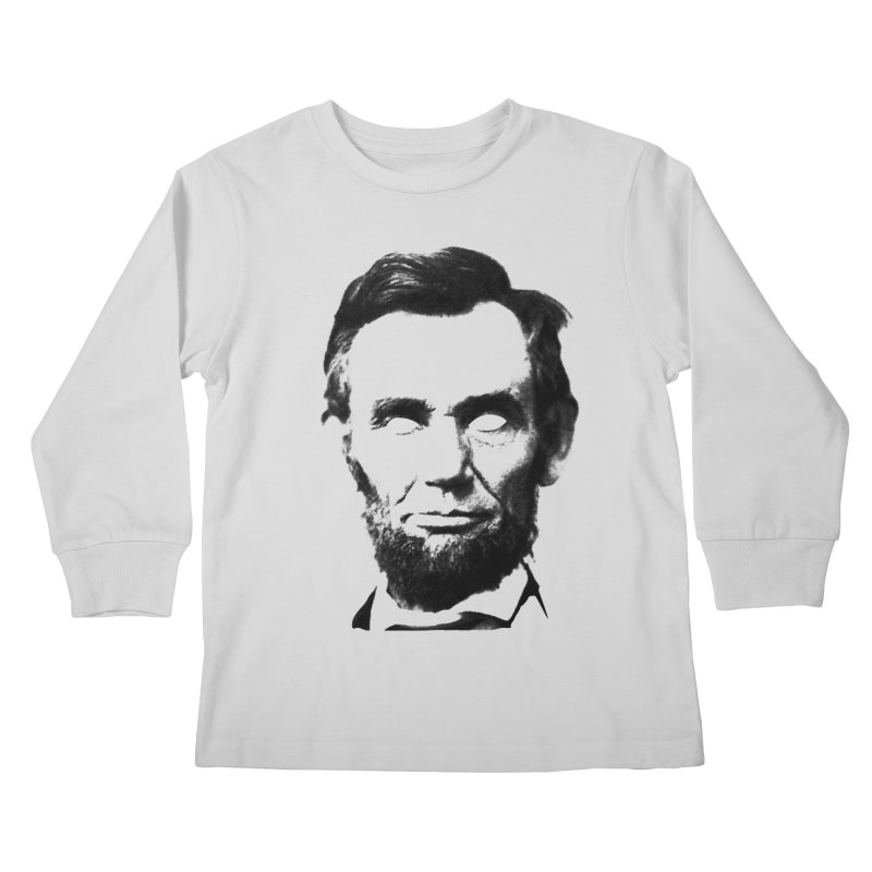 Abe Kids Longsleeve T-Shirt by Lads of Fortune Artist Shop