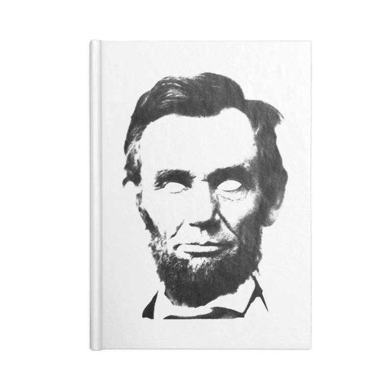 Abe Accessories Lined Journal Notebook by Lads of Fortune Artist Shop