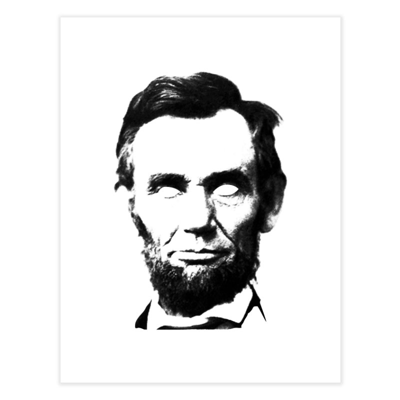 Abe Home Fine Art Print by Lads of Fortune Artist Shop