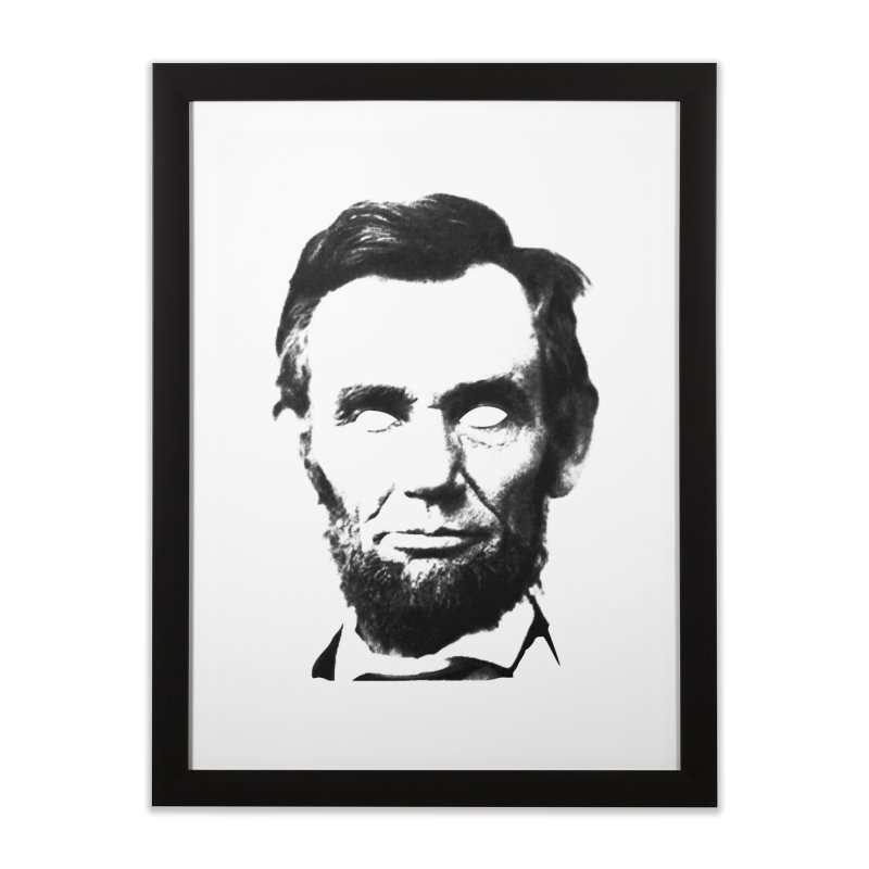 Abe Home Framed Fine Art Print by Lads of Fortune Artist Shop