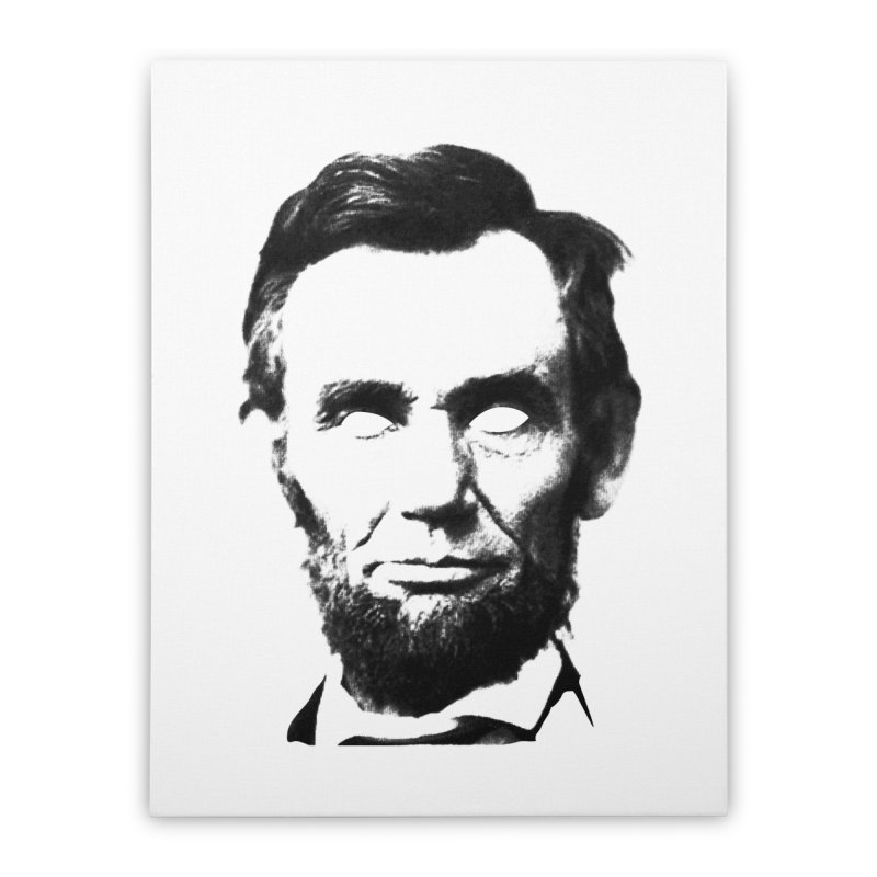 Abe Home Stretched Canvas by Lads of Fortune Artist Shop
