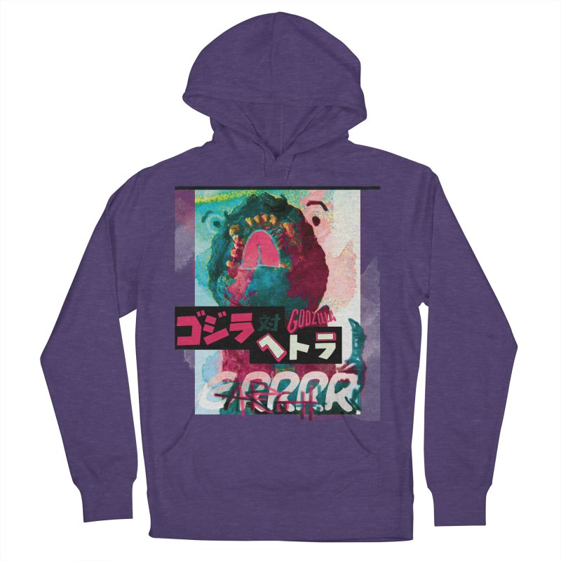 ARRRGH GODZILLA Men's French Terry Pullover Hoody by Lads of Fortune Artist Shop