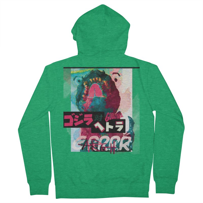 ARRRGH GODZILLA Women's Zip-Up Hoody by Lads of Fortune Artist Shop