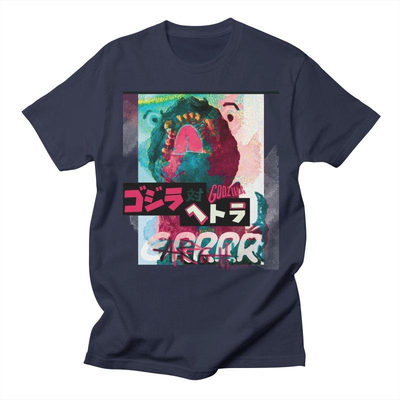 ARRRGH GODZILLA Men's Regular T-Shirt by Lads of Fortune Artist Shop