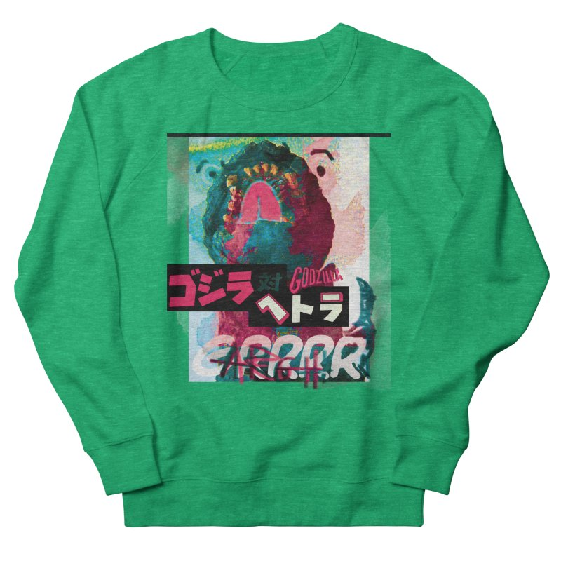 ARRRGH GODZILLA Women's Sweatshirt by Lads of Fortune Artist Shop