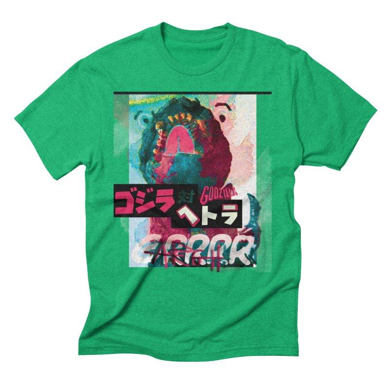 ARRRGH GODZILLA Men's Triblend T-shirt by Lads of Fortune Artist Shop