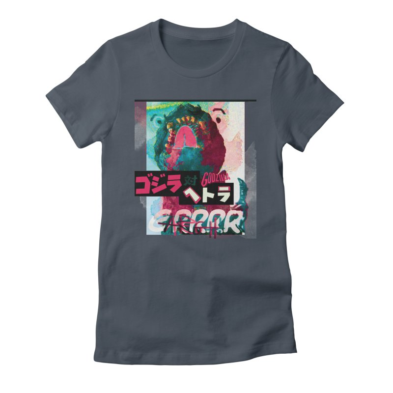 ARRRGH GODZILLA Women's T-Shirt by Lads of Fortune Artist Shop