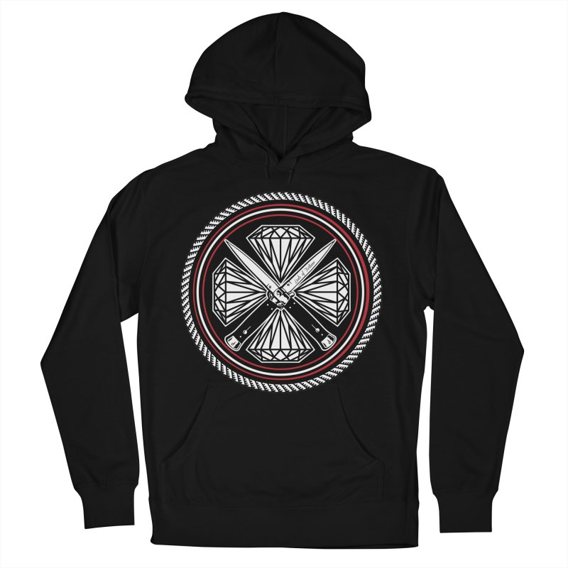 Diamonds and Daggers LOF logo Women's Pullover Hoody by Lads of Fortune Artist Shop