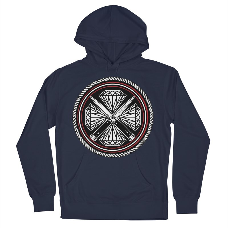 Diamonds and Daggers LOF logo Men's Pullover Hoody by Lads of Fortune Artist Shop