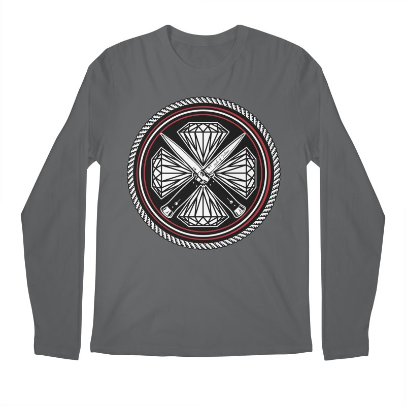 Diamonds and Daggers LOF logo Men's Regular Longsleeve T-Shirt by Lads of Fortune Artist Shop