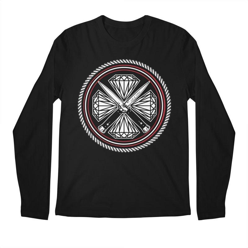 Diamonds and Daggers LOF logo Men's Regular Longsleeve T-Shirt by Lads of Fortune Artist Shop