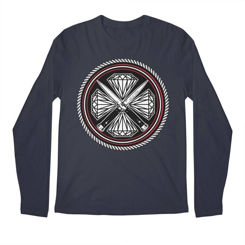 Diamonds and Daggers LOF logo Men's Longsleeve T-Shirt by Lads of Fortune Artist Shop