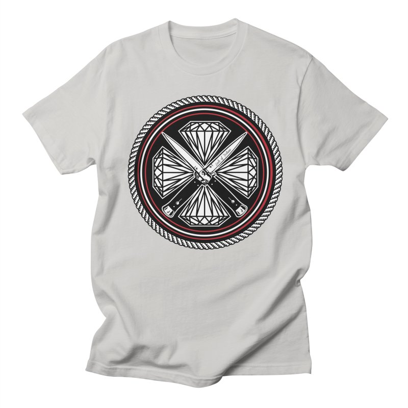 Diamonds and Daggers LOF logo Men's Regular T-Shirt by Lads of Fortune Artist Shop