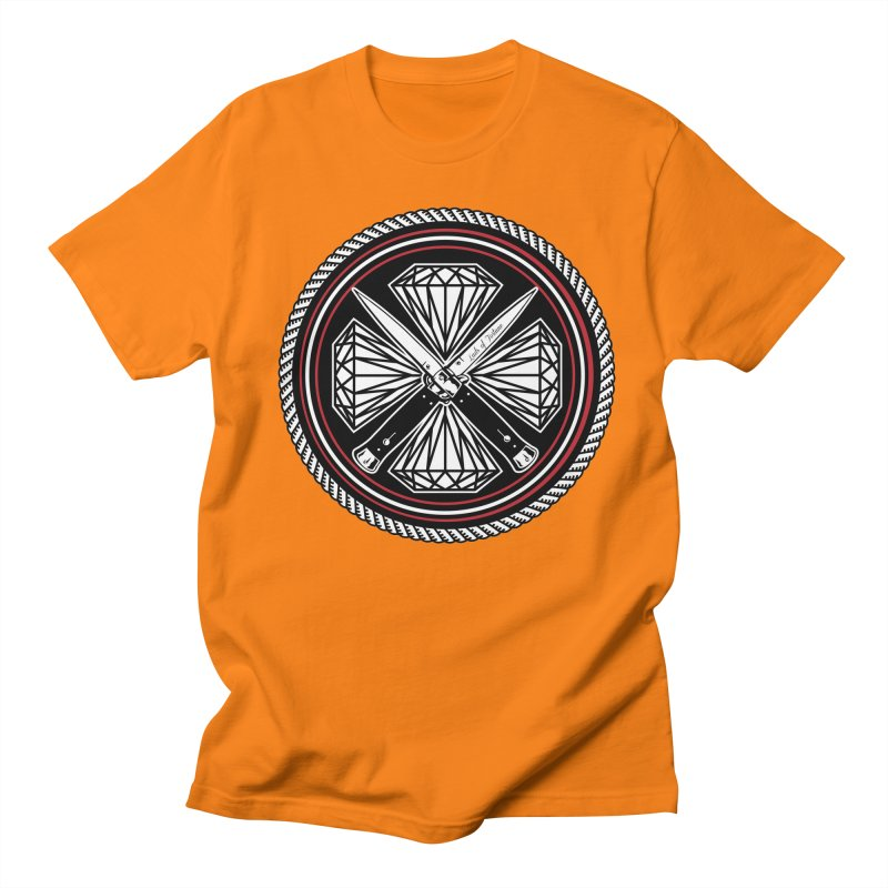 Diamonds and Daggers LOF logo Men's T-Shirt by Lads of Fortune Artist Shop