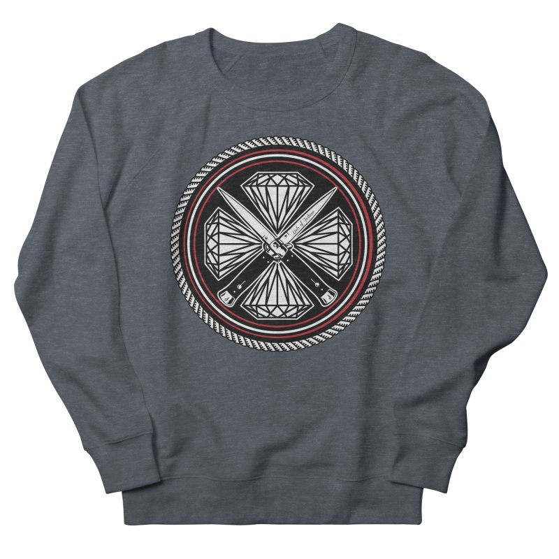 Diamonds and Daggers LOF logo Women's French Terry Sweatshirt by Lads of Fortune Artist Shop
