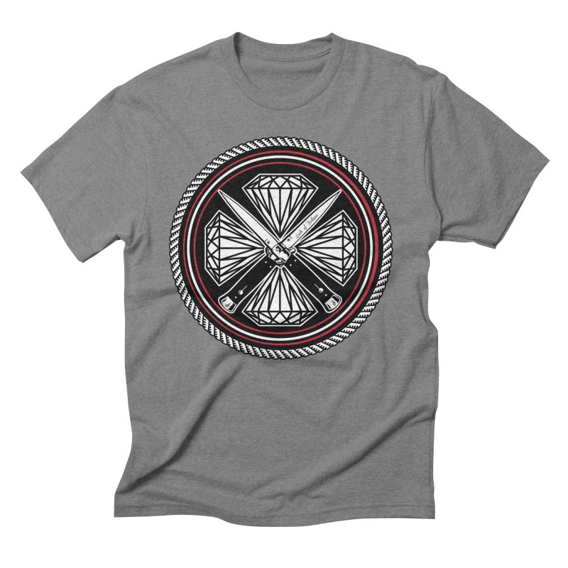 Diamonds and Daggers LOF logo Men's Triblend T-Shirt by Lads of Fortune Artist Shop