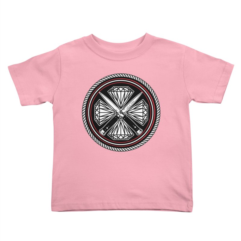 Diamonds and Daggers LOF logo Kids Toddler T-Shirt by Lads of Fortune Artist Shop