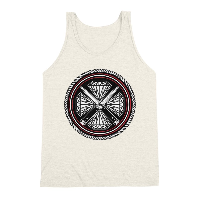 Diamonds and Daggers LOF logo Men's Triblend Tank by Lads of Fortune Artist Shop