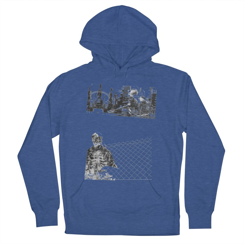 History is never black and white Men's French Terry Pullover Hoody by Lads of Fortune Artist Shop