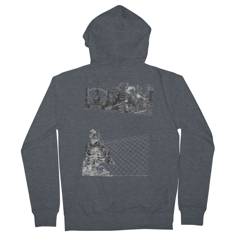 History is never black and white Men's Zip-Up Hoody by Lads of Fortune Artist Shop
