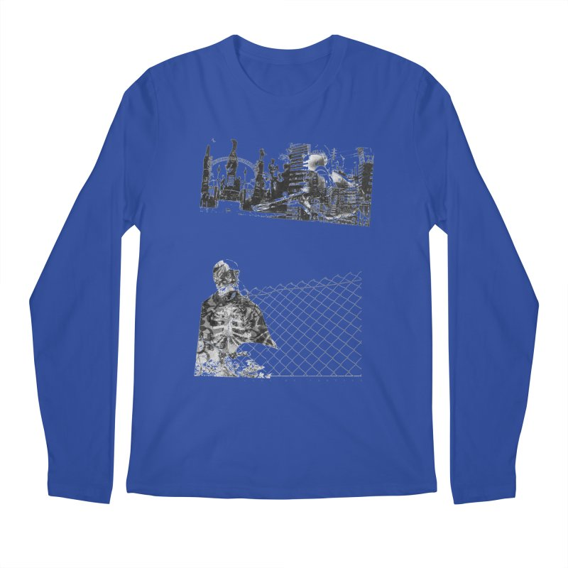 History is never black and white Men's Regular Longsleeve T-Shirt by Lads of Fortune Artist Shop