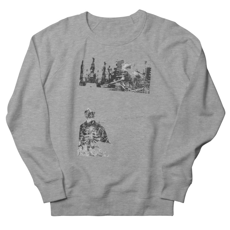 History is never black and white Women's French Terry Sweatshirt by Lads of Fortune Artist Shop