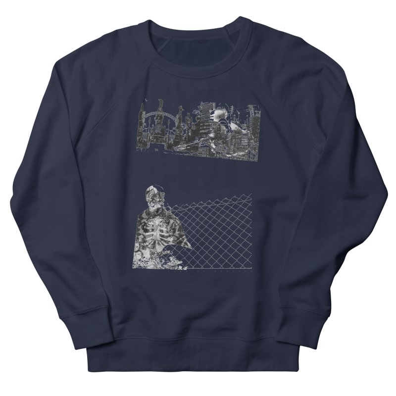 History is never black and white Men's French Terry Sweatshirt by Lads of Fortune Artist Shop