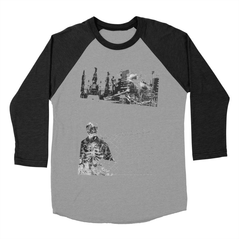 History is never black and white Men's Baseball Triblend T-Shirt by Lads of Fortune Artist Shop