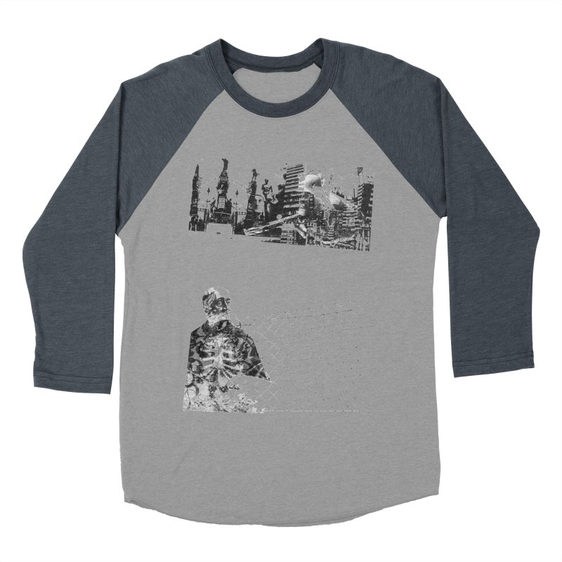 History is never black and white Men's Baseball Triblend Longsleeve T-Shirt by Lads of Fortune Artist Shop