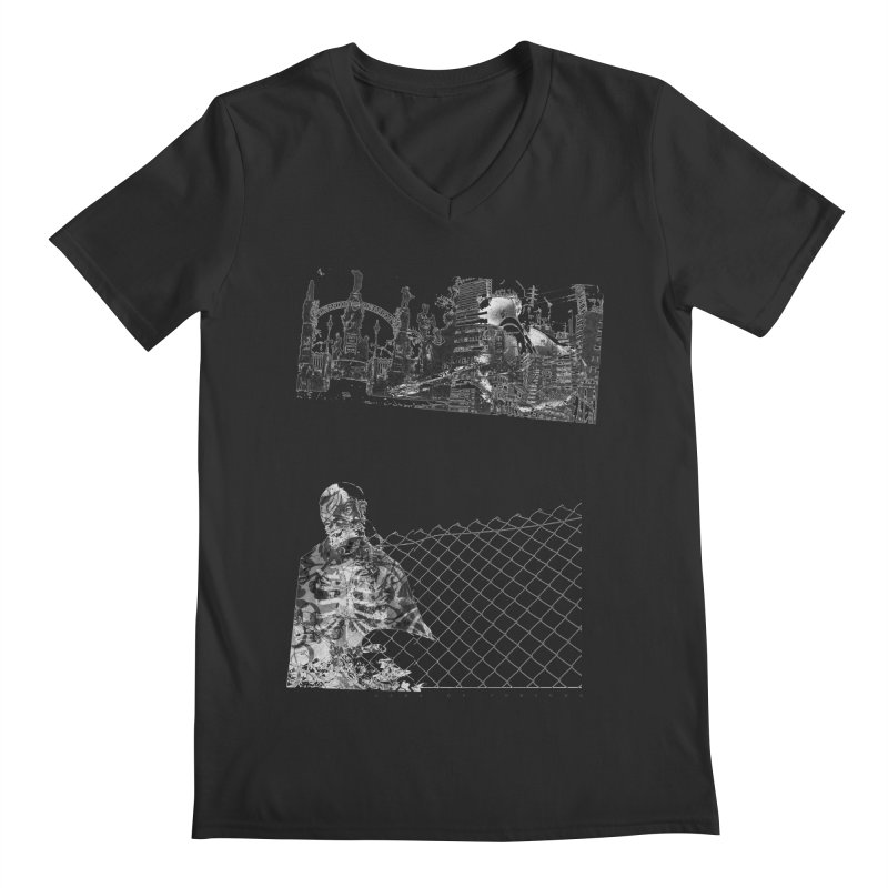 History is never black and white Men's Regular V-Neck by Lads of Fortune Artist Shop