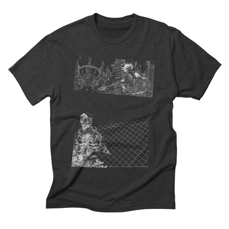 History is never black and white Men's Triblend T-shirt by Lads of Fortune Artist Shop