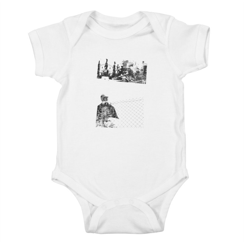 History is never black and white Kids Baby Bodysuit by Lads of Fortune Artist Shop