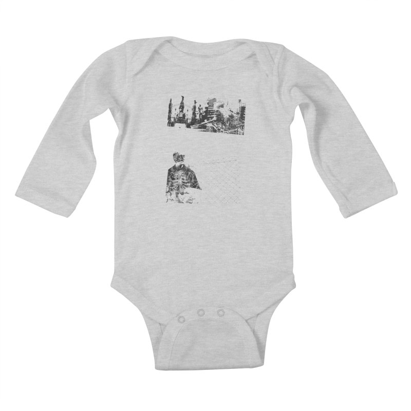 History is never black and white Kids Baby Longsleeve Bodysuit by Lads of Fortune Artist Shop
