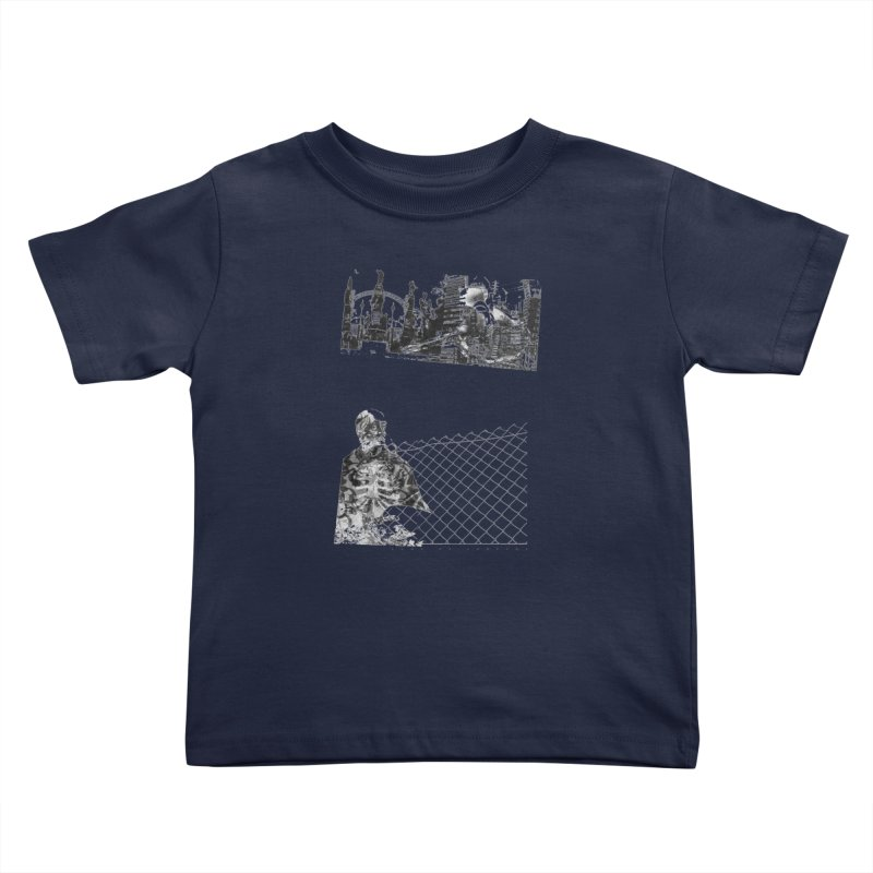 History is never black and white Kids Toddler T-Shirt by Lads of Fortune Artist Shop