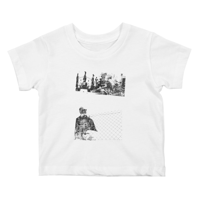 History is never black and white Kids Baby T-Shirt by Lads of Fortune Artist Shop