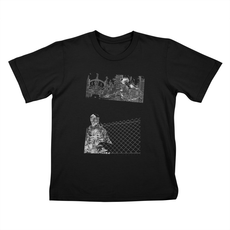 History is never black and white Kids T-Shirt by Lads of Fortune Artist Shop