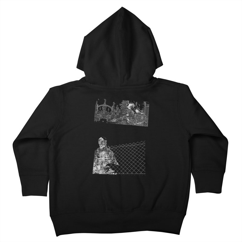 History is never black and white Kids Toddler Zip-Up Hoody by Lads of Fortune Artist Shop