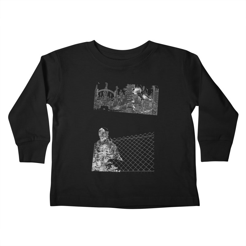 History is never black and white Kids Toddler Longsleeve T-Shirt by Lads of Fortune Artist Shop
