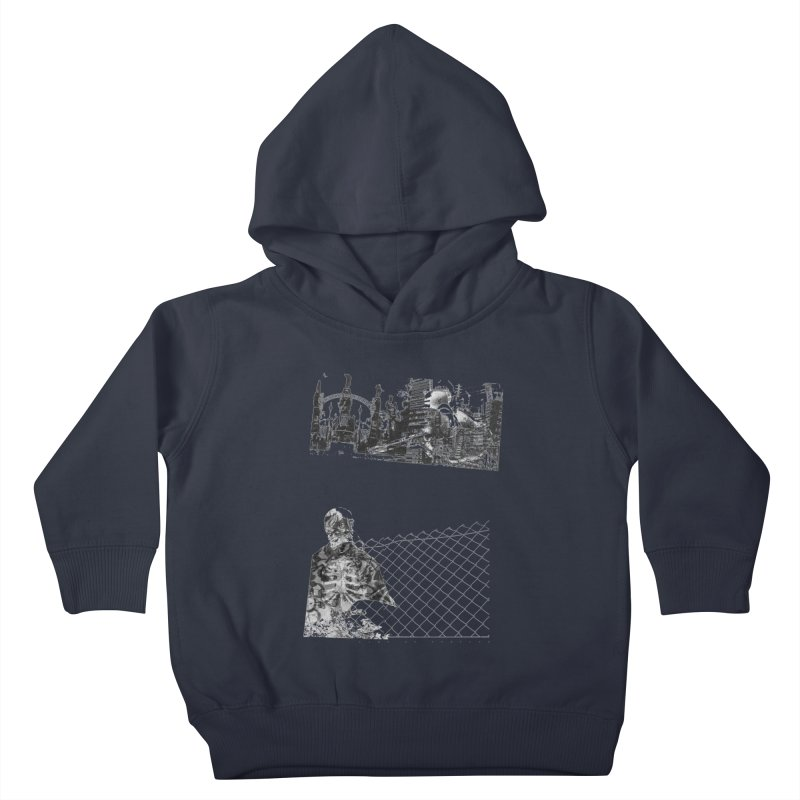 History is never black and white Kids Toddler Pullover Hoody by Lads of Fortune Artist Shop