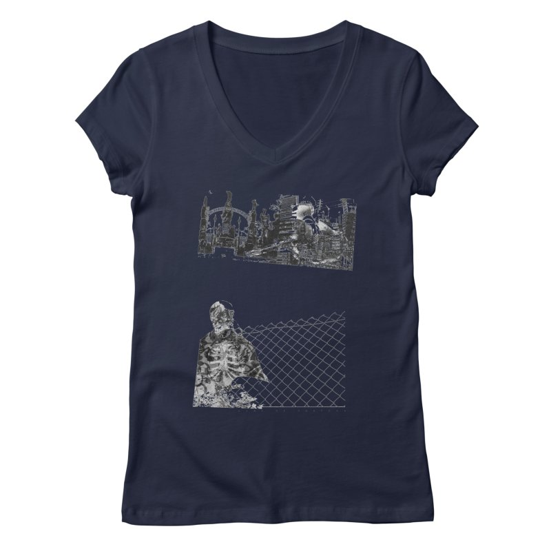 History is never black and white Women's Regular V-Neck by Lads of Fortune Artist Shop