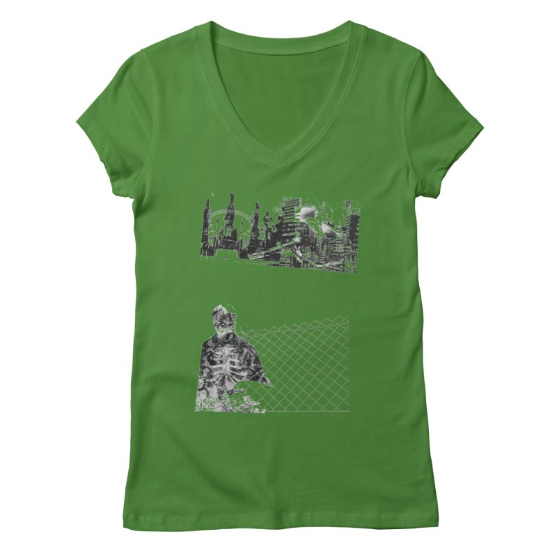 History is never black and white Women's V-Neck by Lads of Fortune Artist Shop