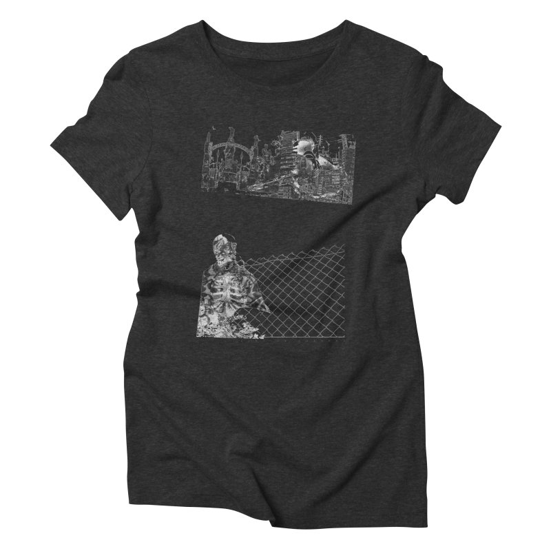 History is never black and white Women's Triblend T-shirt by Lads of Fortune Artist Shop