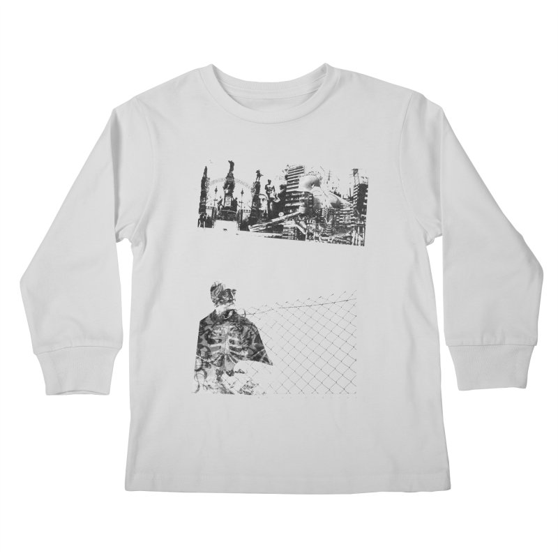 History is never black and white Kids Longsleeve T-Shirt by Lads of Fortune Artist Shop