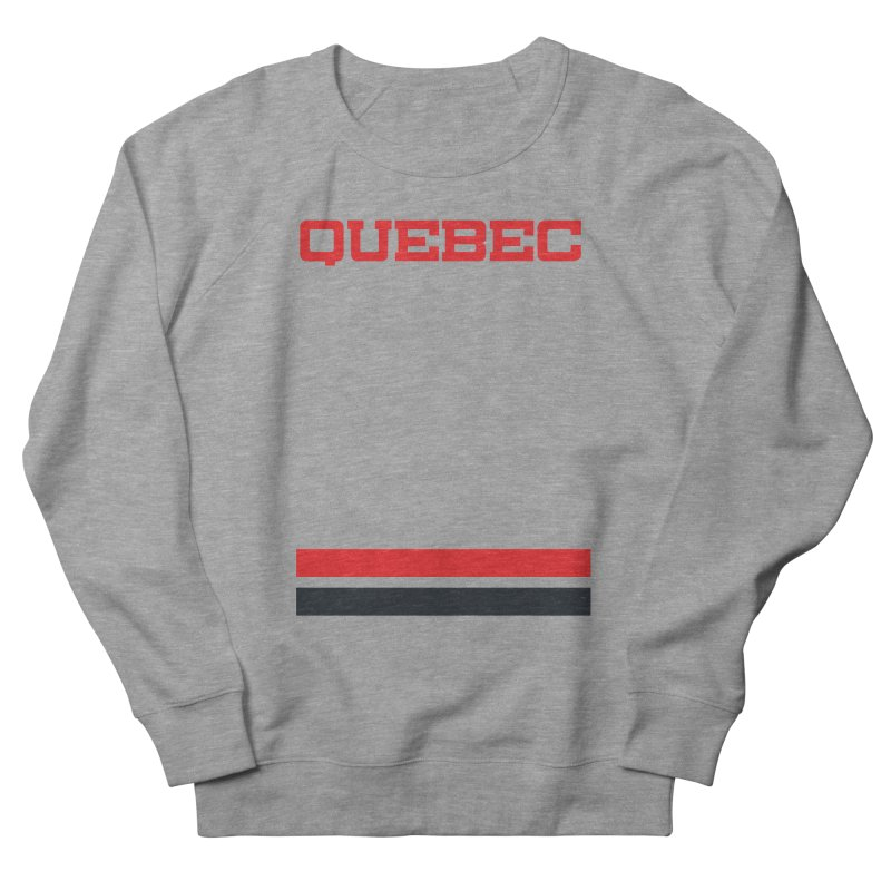 Quebec Hockey Jersey  Women's Sweatshirt by Lads of Fortune Artist Shop