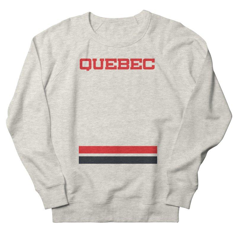 Quebec Hockey Jersey  Women's Sweatshirt by Lads of Fortune Artist Shop