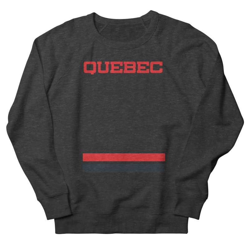 Quebec Hockey Jersey  Men's Sweatshirt by Lads of Fortune Artist Shop