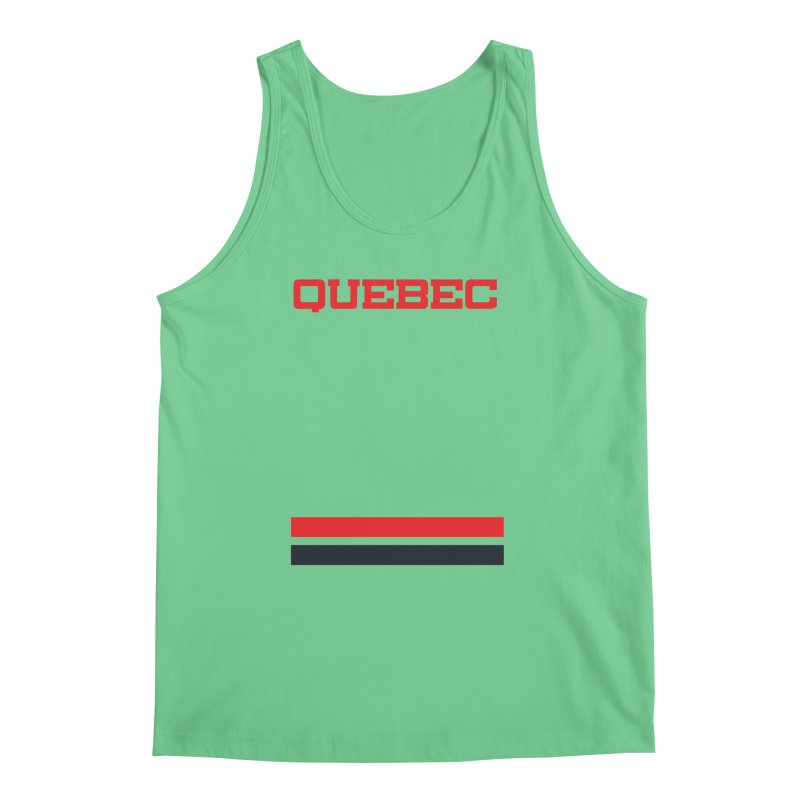 Quebec Hockey Jersey  Men's Tank by Lads of Fortune Artist Shop