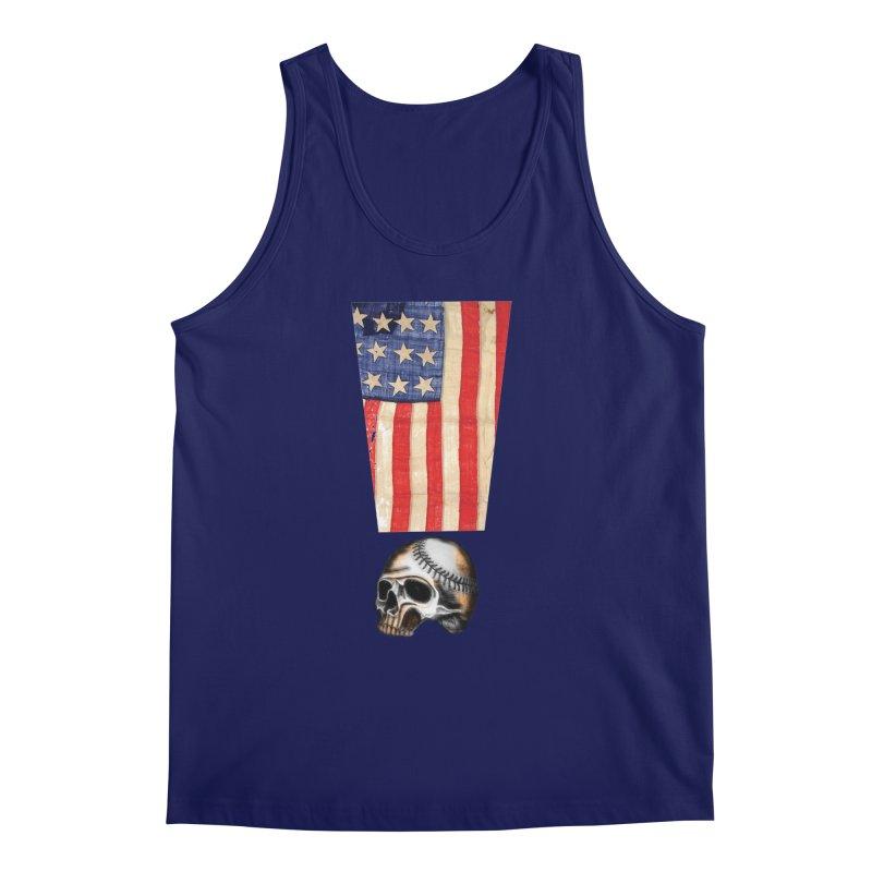 American Baseball Fan Men's Tank by Lads of Fortune Artist Shop