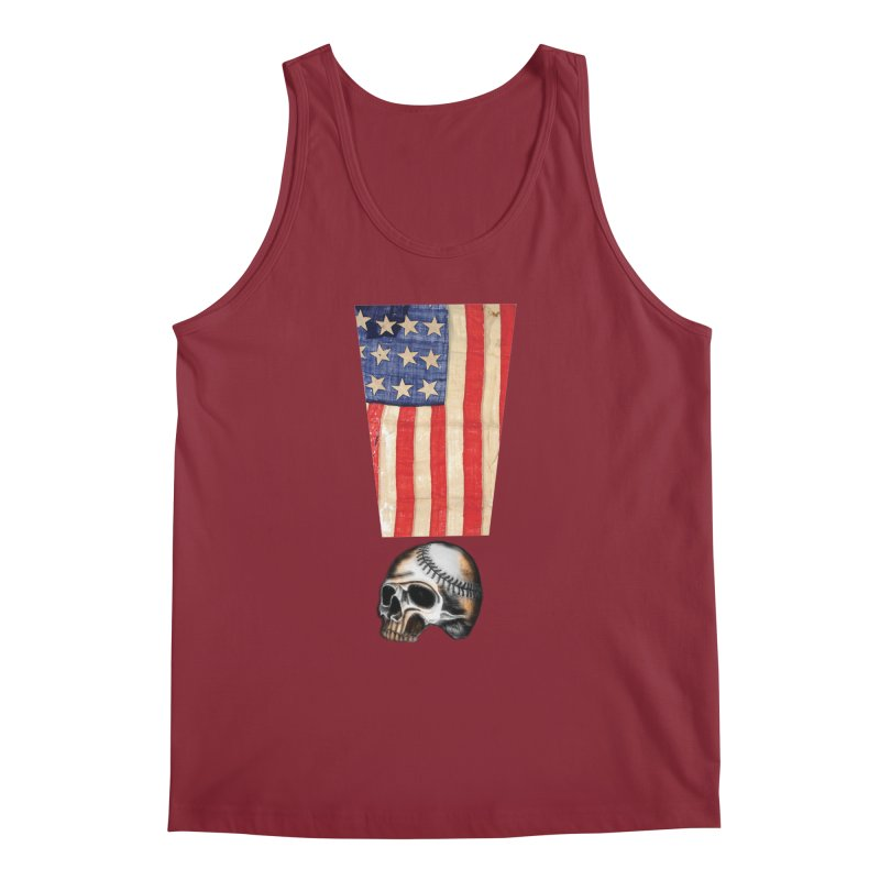 American Baseball Fan Men's Regular Tank by Lads of Fortune Artist Shop