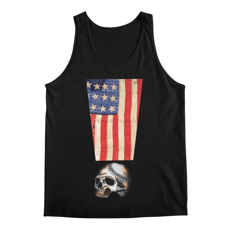 American Baseball Fan Men's Regular Tank by Lads of Fortune Artist Shop